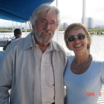 Jean Michel Cousteau and  Fabiene in 2007