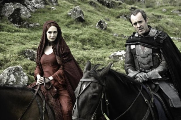 Stannis and Melisandre Game of Thrones
